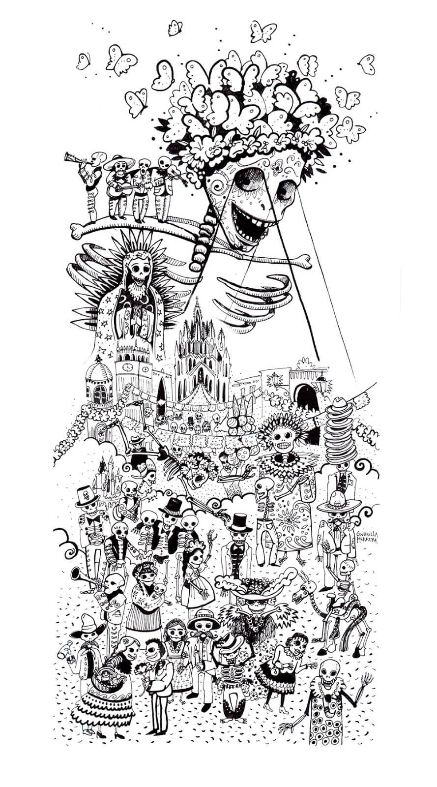Fiesta en San Miguel de Allende chica