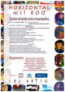 Muestra en el Cerro Catedral, Bariloche Argentina
